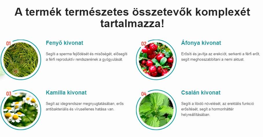 Ételek prosztatitával)